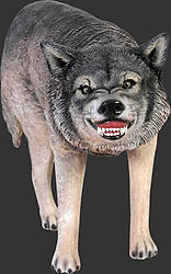 Wolf Statue Life Size