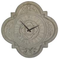 Quadrofoil Wall Stone Clock