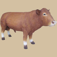 South Devon Bull Life Size Statue 9FT