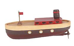 Toy Boat Christmas Gift Decor Large Prop