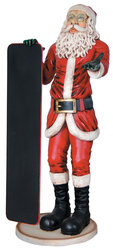Skinny Santa with Menu (5.5ft)