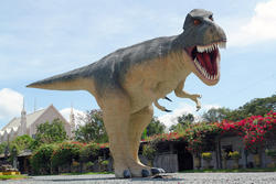 Giant T-Rex Dino Life Size Statue 20 FT