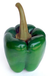 Large Bell Pepper Statue Green