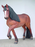 Walking Horse Statue Life Size