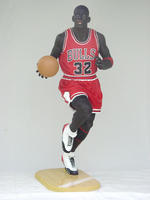 Basketball Player Life Size Statue