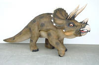 Triceratops Dinosaur Life Size Statue
