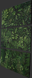 Jungle Frieze Triptych - Modern Wall Decor