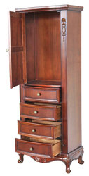 Cambridge Linen Side Cabinet 72
