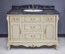 Marseille Antique Bathroom Vanity Set - White