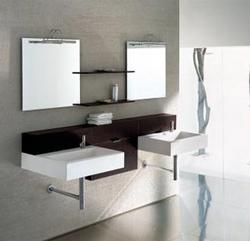 Camellia - Modern Double Bathroom Vanity Set - 59