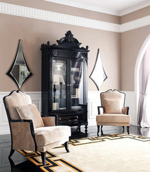 Black China Cabinet - Mistique