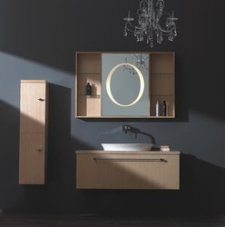 Corleona - Modern Bathroom Vanity Set 46.5