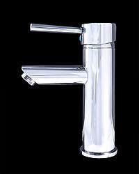 Frances III - Chrome Finish Modern Bathroom Faucet