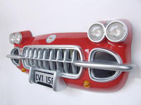 CORVETTE CAR FRONT WALL DECOR