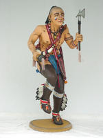 Indian Ran Dance Statue 6FT