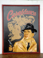 CASABLANCA Advertising plate - Large