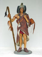 Indian Medicine Man Life Size Statue 6FT