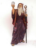 Merlin Wizard Life Size Statue