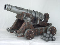Pirate Cannon Life Size Replica