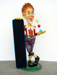 CLOWN WITH MENU