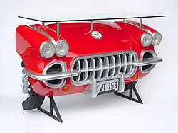 Corvette Car Bar Red
