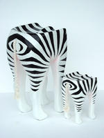 Zebra Animal Stool Small