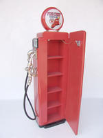 GAS PUMP CABINET (Red) - 5FT