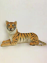 Tiger Laying Statue Life Size