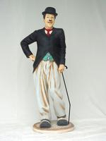 Charlie Chaplin Statue Comedian with Cane (6ft)