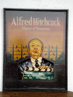 Decorative Wall Plate Alfred Hitchcock - Small