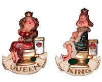 King and Queen Bathroom Sign