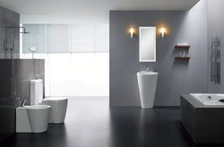 Durazza Modern Bathroom Pedestal Sink Vanity 20.1