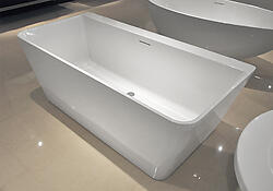 Narciso Acrylic Modern Bathtub 65