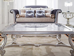 Glass Top Coffee Table - Valence
