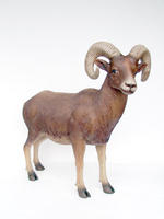 Mountain Ram Statue Life Size