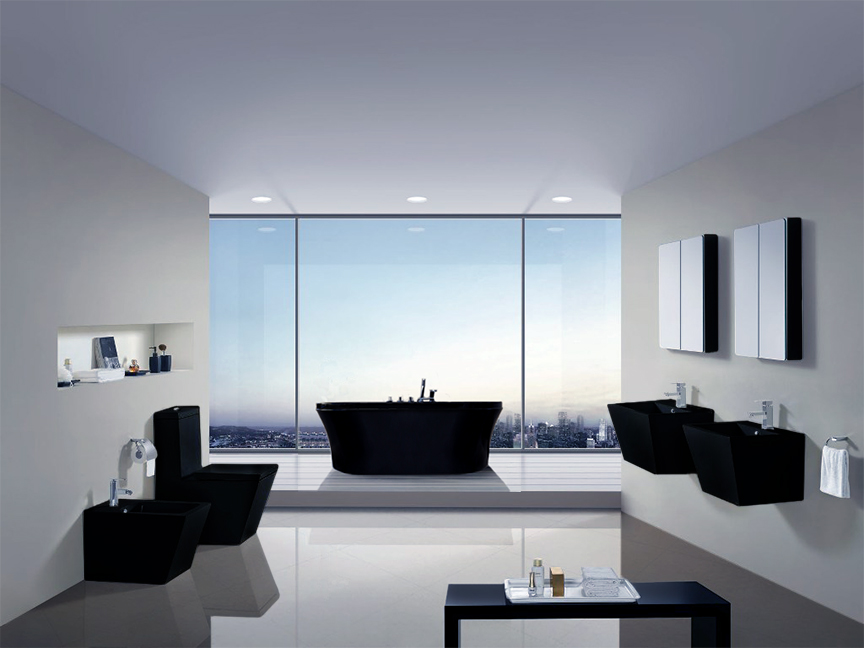 Americo - Modern Bathroom Toilet 26