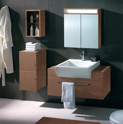 Bardalina - Modern Bathroom Vanity Set 39.4 - Chestnut