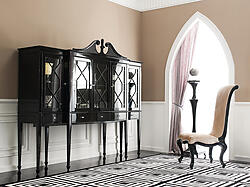 Black China Cabinet - Mistique II