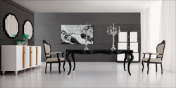 Black Dining Table - Angelina