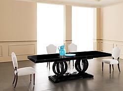 Modern Dining Table - Camila Black