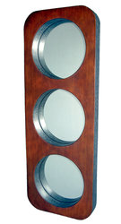 Delphine 3 in 1 Large Modern Wall Mirror