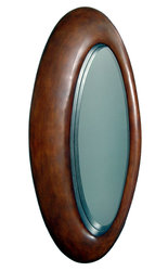 Devereaux Large Modern Oval Wall Mirror