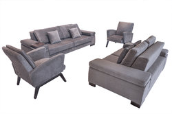 Fabric Sofa Living Room Set - Alora
