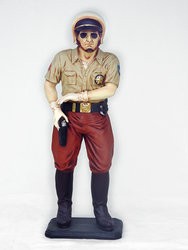 Policeman Statue 3FT