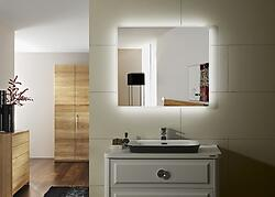 Prague IV Lighted LED Bathroom Vanity Mirror