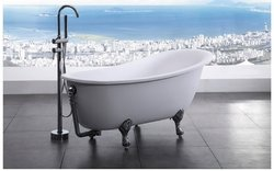 Bellagio Freestanding Soaking Claw Foot Tub 64.5