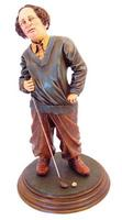 Larry Golfer Statue - Three Stooges Statue - Larry