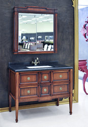 Evelyn Antique Style Bathroom Vanity Single Sink 41