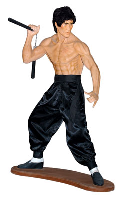 Kung Fu Fighter Life Size Statue