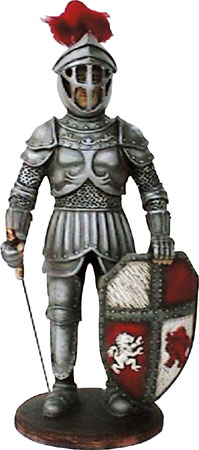 Knight Statue 3FT